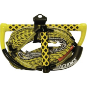 Seachoice 5-Section Wakeboard Rope with Trick Handle, 23m