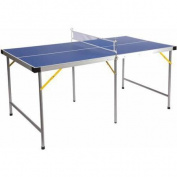 Lion Sports 1.5m Folding Portable Table Tennis Ping Pong Table