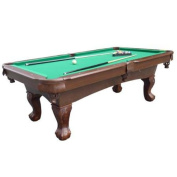 MD Sports Springdale 2.3m Billiard Pool Table with Cue Set & Accessories