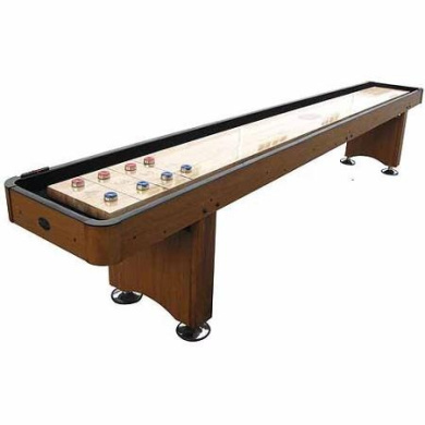 Playcraft Woodbridge Honey Oak 3.7m Shuffleboard Table