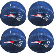 NFL New England Patriots Magnetic Chip Clip Set, 4pk