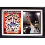 MLB Boston Red Sox 2013 Champions 30cm x 46cm Double Custom Frame