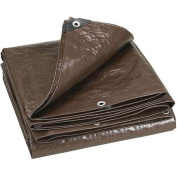 Stansport Heavy Weight Wood Cover Tarp, Brown