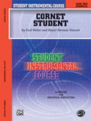 Alfred 00-BIC00246A Student Instrumental Course- Cornet Student- Level II