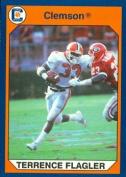 Autograph Warehouse 96699 Terrance Flagler Football Card Clemson 1990 Collegiate Collection No. 39
