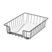 FELLOWES 60112 Workstation Letter Desk Tray Organiser Wire Black