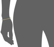 "gorjana ""Taner"" Gold Gemstone Strand Bracelet"