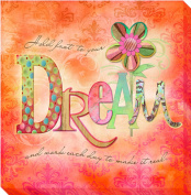 Artistic Home Gallery 1212707G Dream by Connie Haley Premium Gallery-Wrapped Canvas Giclee Wall Art