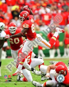Photofile PFSAALR12601 Dwayne Bowe 2009 Action Sports Photo - 8 x 10