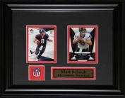 Midway Memorabilia Matt Schaub Houston Texans 2 Card Frame