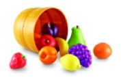 Learning Resources New Sprouts Bushel Of Fruit Play Food Set