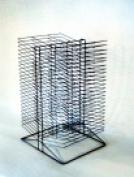 Sax Double Sided Wire Drying Rack - 17 x 50cm x 80cm . - Black