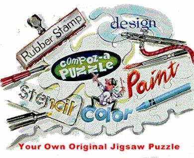 Art Supplies 28MB24 Compoz - A - Puzzle 14cm X 20cm . 28 Pieces - 24 Pack