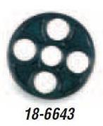 K & L Supply 18-6643 28.50 x 2.43 mm. Fuel Tap Valve Gasket