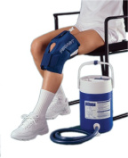 Fabrication Enterprises 11-1574 Knee Cuff Only - Large - For Aircast Cryocuff System