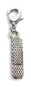 Whimsical Gifts 680S Band Aid Charm Dangle in Silver