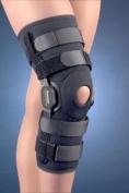 Fla 37-1092LBLK Powercentric Composite Polycentric Knee Brace Black XX-Large