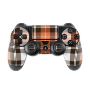 DecalGirl PS4C-PLAID-CPR Sony PS4 Controller Skin - Copper Plaid