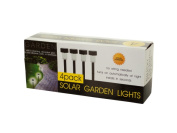 Bulk Buys OC838-4 Solar Powered Garden Lights Set 4-Piece