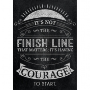 Its Not The Finish Line Poster