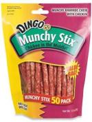 United Pet Group 220427 Dingo Munchy Stix Dog Treats 50 Count
