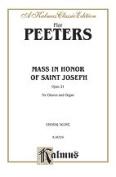 Alfred 00-K06359 Peeters Mass In Honour St Joseph Book