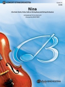 Alfred 00-31552S S Nina- Solo-String Orch-Bcs Set4D Book