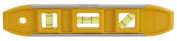 Johnson Level & Tool 1405-0900 23cm . Project Magnetic Aluminium Torpedo Level