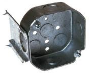 Raco 158 J Bracket Octagon Box - 10cm x 3.8cm . Deep