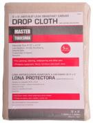 Master Tradesman 85355 1.5m x 1.5m Poly Backed Canvas Dropcloth