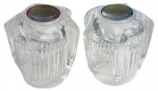 Larsen Supply 01-4013 Lavatory Sink & Tub Shower Handle Clear