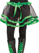 Costumes for all Occasions FW90253GR Ribbon Tutu Child Green