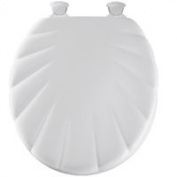 Bemis 22EC-000 White Round Closed Front Toilet Seat