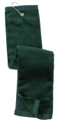Port Authority Men's Grommeted TriFold Golf Towel