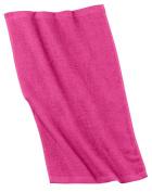 Port & Company - Rally Towel. OSFA Pop Raspberry