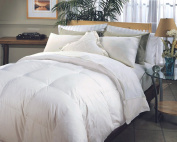 Blue Ridge Home Fashions, Hotel Grand Naples 700-Thread Count Hungarian White Goose Down Comforter, King