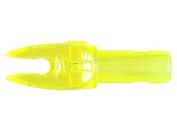 Easton H Nocks Carbon Arrows Flo Yellow 12/Pkg