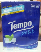 Tempo Pocket Tissues ICY Menthol X 36pcs Petit