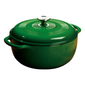 Lodge EC6D53 5.7l. Emerald Green Colour Enamel Dutch Oven
