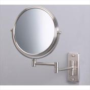 Jerdon JP7506N Wall Mounted Mirror in Nickel