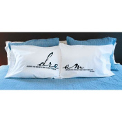 Jozie B 200003 Dream Big Pillow Cases - Pack of 2