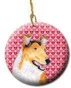Carolines Treasures SS4470CO1 7.1cm x 7.1cm . Collie Smooth Ceramic Ornament