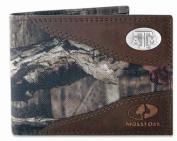 ZeppelinProducts TAM-IWNT1-MOS Texas A & M Passcase Nylon Mossy Oak Wallet