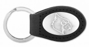 ZeppelinProducts LOU-KL6-BLK Louisville Leather Key Fob Black