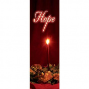 Vcp Wholesale 27589 Banner C Advent Candles Hope Indoor