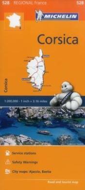 France: Corsica Map 528: Michelin Regional Maps: France