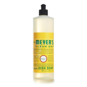 Mrs. Meyers 1210608 Liquid Dish Soap - Honeysuckle - 470ml
