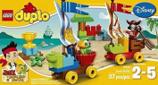 block DUPLO (37pcs) Jake Beach Racing Cars Toy for kids Figures Building Block Toys