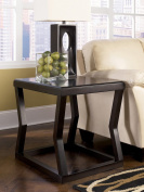 Ashley Furniture Signature Design Kelton Rectangular End Table, Espresso