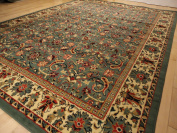 New Green Persian Tabriz Design Area Rug Large 8x11 Rugs Dining Room 8x10 Carpet Traditional Green 5x8 Rug Living Room Rugs 2x8 Narrow Hallway Rug Multiple Size Rugs